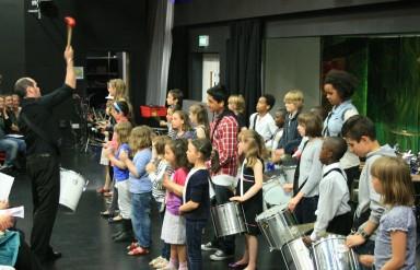 THAMES Batteria at the Summer Concert
