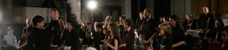 Tower Hamlets Youth Orchestra, conducted by John Anderson - July 2012 at St Leonard's Church, Shoreditch