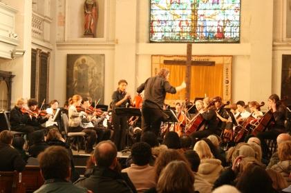 Concert at Shoreditch Church